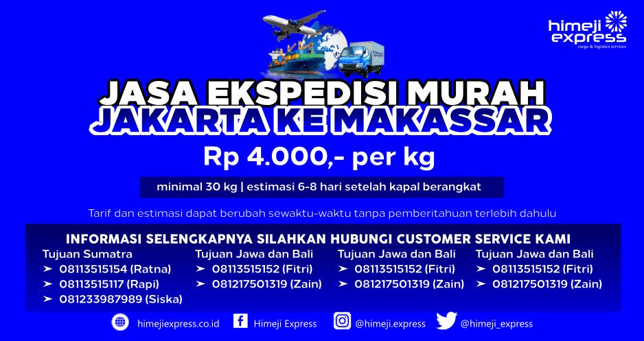 Ekspedisi Cargo Jakarta ke Makassar yang Amanah