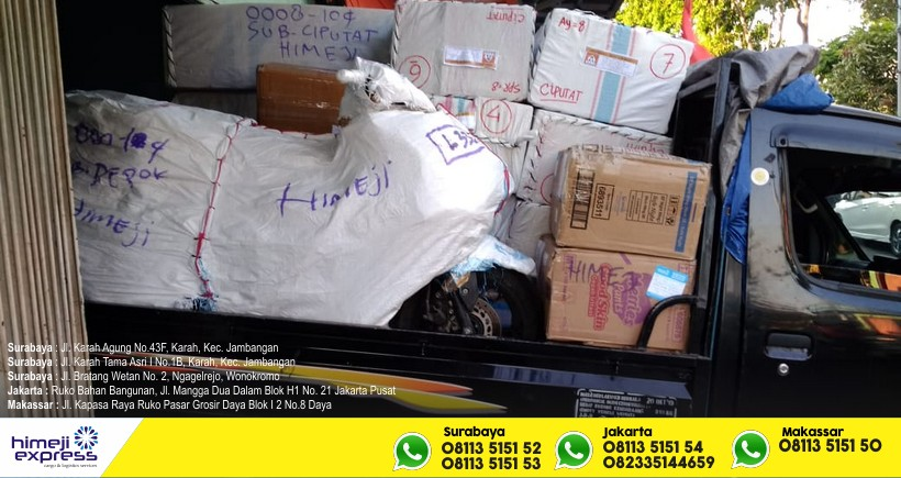 Jasa Ekspedisi Cargo Barang Jakarta Makassar