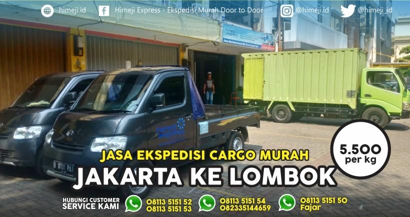 Ekspedisi Cargo Jakarta Lombok