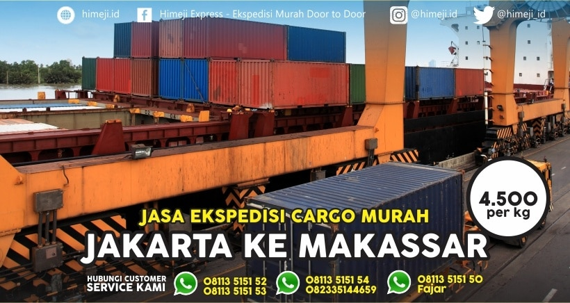 Jasa Ekspedisi Jakarta Makassar
