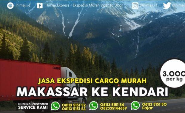 Ekspedisi dan Cargo Murah Makassar Kendari