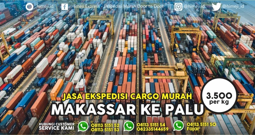 Jasa Ekspedisi Makassar Palu