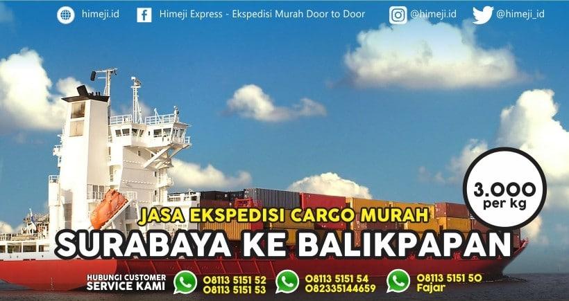 Ekspedisi Cargo Surabaya Balikpapan