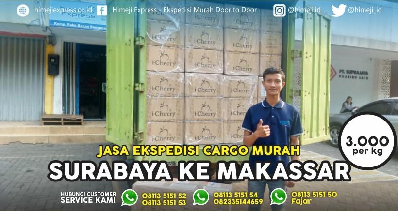 Jasa Ekspedisi Surabaya Makassar
