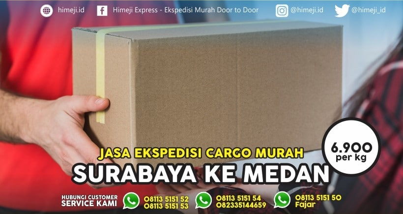 Jasa Ekspedisi Surabaya Medan
