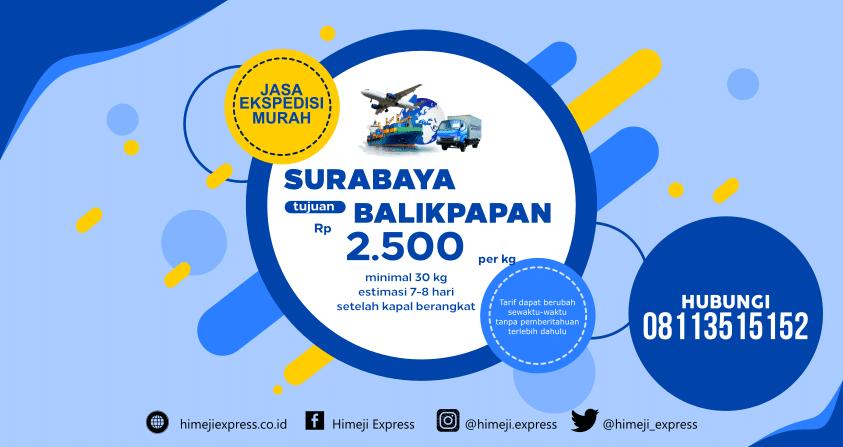 Jasa_Ekspedisi_Surabaya_ke_Balikpapan