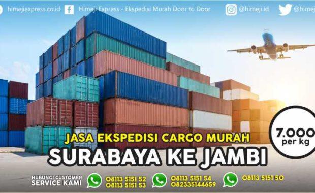 Jasa Ekspedisi Surabaya Jambi yang Murah dan Aman