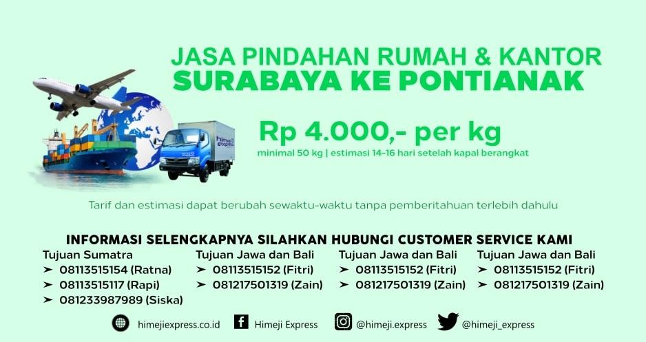 Jasa_Pindahan_Rumah_dan_Kantor_Surabaya_ke_Pontianak