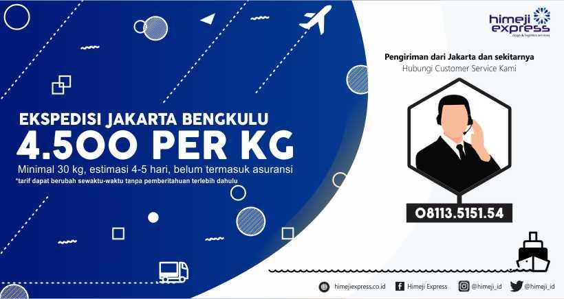 Ekspedisi Jakarta Bengkulu