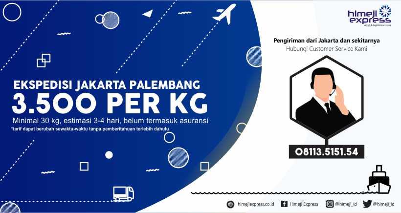 Ekspedisi Jakarta Palembang