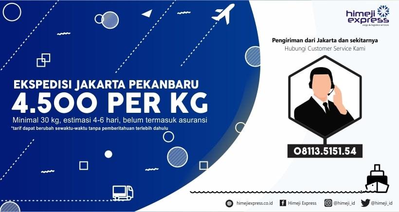 Ekspedisi Jakarta Pekanbaru Riau
