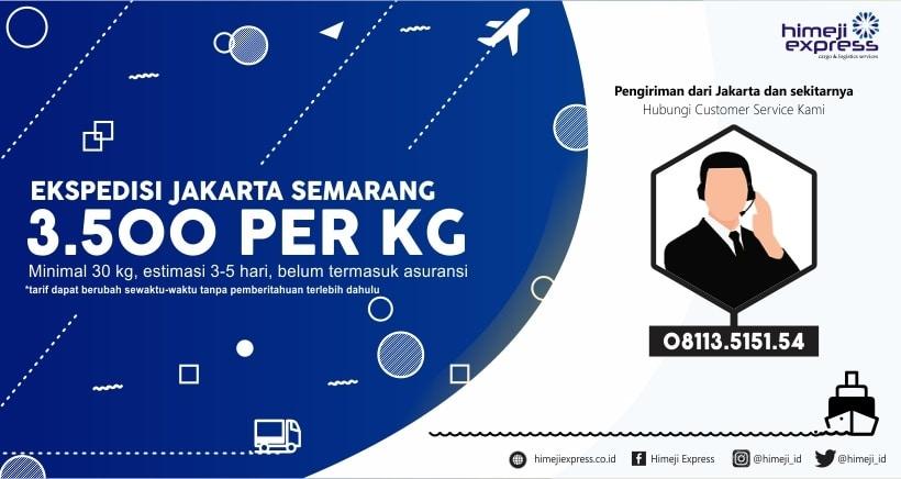 Ekspedisi Murah Jakarta Semarang