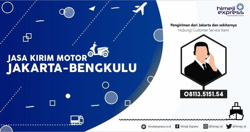 Kirim Motor Jakarta tujuan Bengkulu