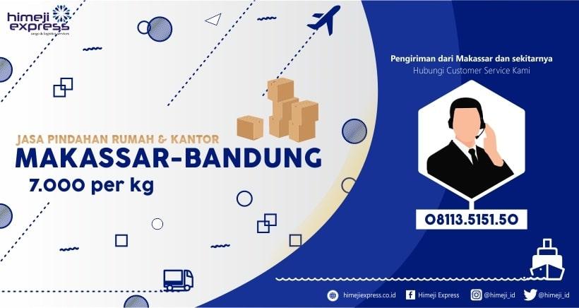 Jasa Pindahan Makassar Bandung, Jawa Barat