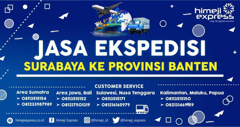Jasa Ekspedisi Surabaya ke Banten yang Murah