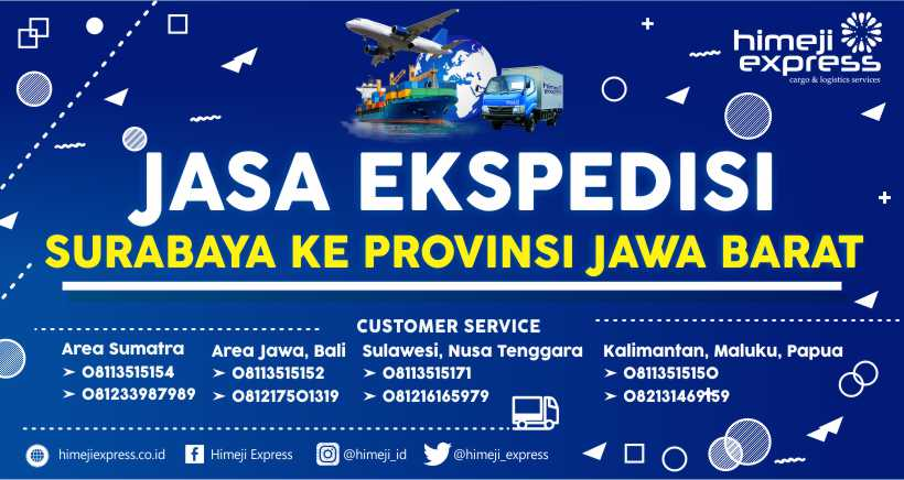 Jasa Ekspedisi Surabaya tujuan Kalimantan Barat