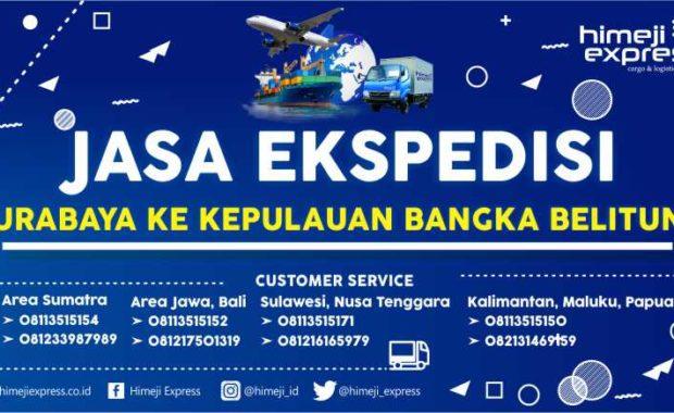 Ekspedisi Surabaya ke Kepulauan Bangka Belitung