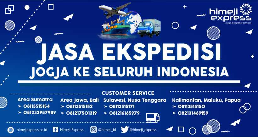 Jasa Ekspedisi Cargo Jogja ke Seluruh Indonesia