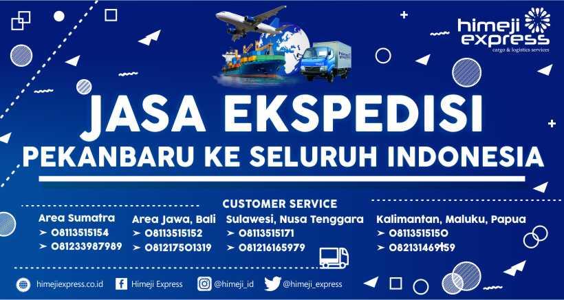 Jasa Ekspedisi Cargo Pekanbaru ke Seluruh Indonesia