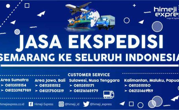 Jasa Ekspedisi Semarang ke Seluruh Indonesia