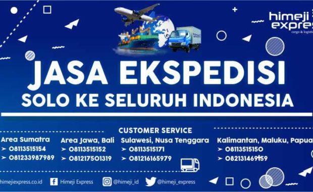 Jasa Ekspedisi Solo ke Seluruh Indonesia