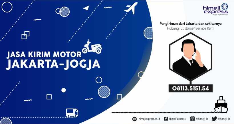 Jasa Kirim Motor dari Jakarta tujuan Jogja
