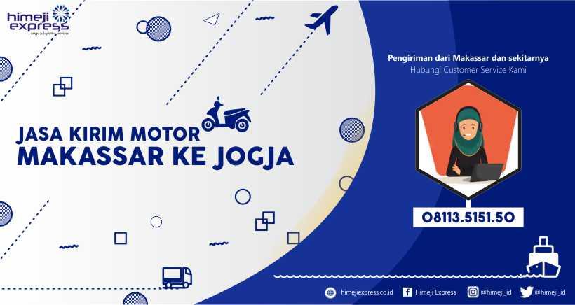 Jasa Kirim Motor Makassar-Jogja yang Murah