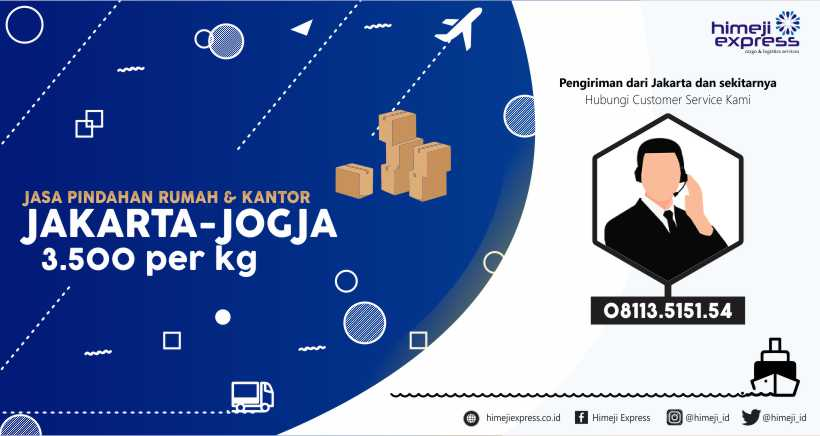 Jasa Pindahan Rumah dan Kantor dari Jakarta ke Jogja