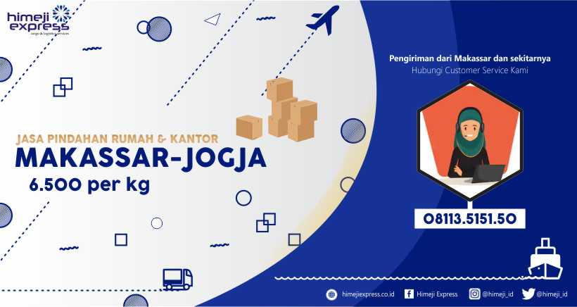 Jasa Pindahan Makassar-Jogja yang Murah