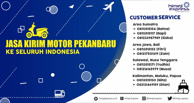 Jasa Kirim Motor Pekanbaru ke Seluruh Indonesia