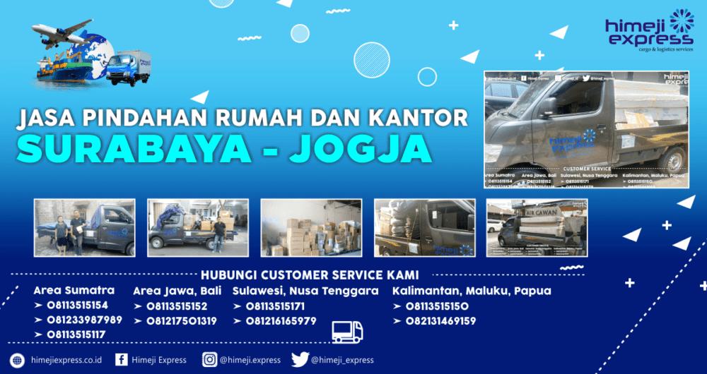 Jasa Pindahan Surabaya ke Jogja