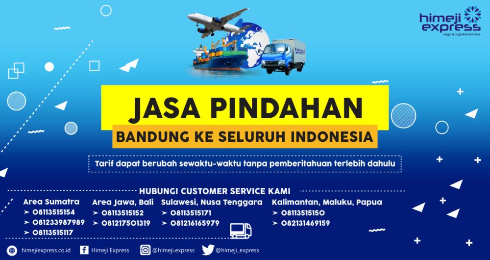 Jasa Pindahan Bandung ke Seluruh Indonesia