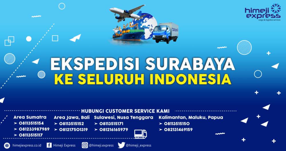 Jasa Ekspedisi Surabaya ke Seluruh Indonesia Murah dan Cepat