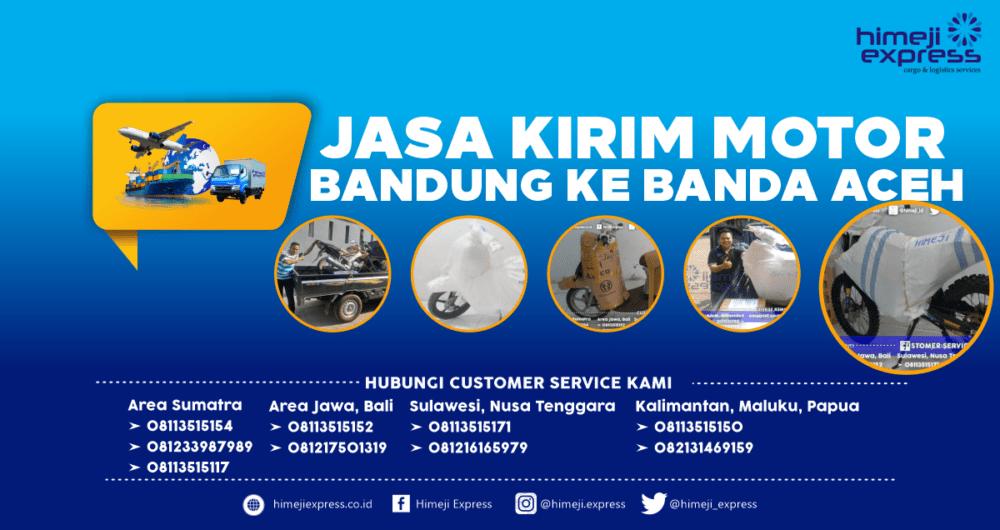 Jasa Kirim Motor Bandung ke Banda Aceh