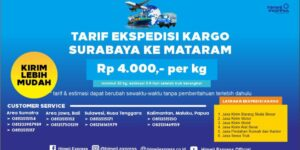 Ekspedisi Murah Surabaya ke Mataram