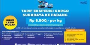 Ekspedisi Murah Surabaya ke Padang