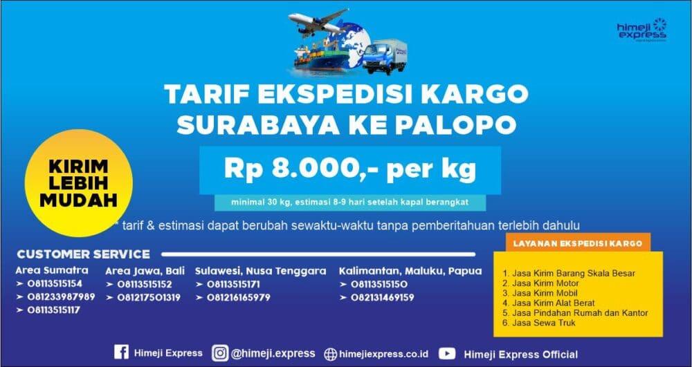 Ekspedisi Murah Surabaya ke Palopo