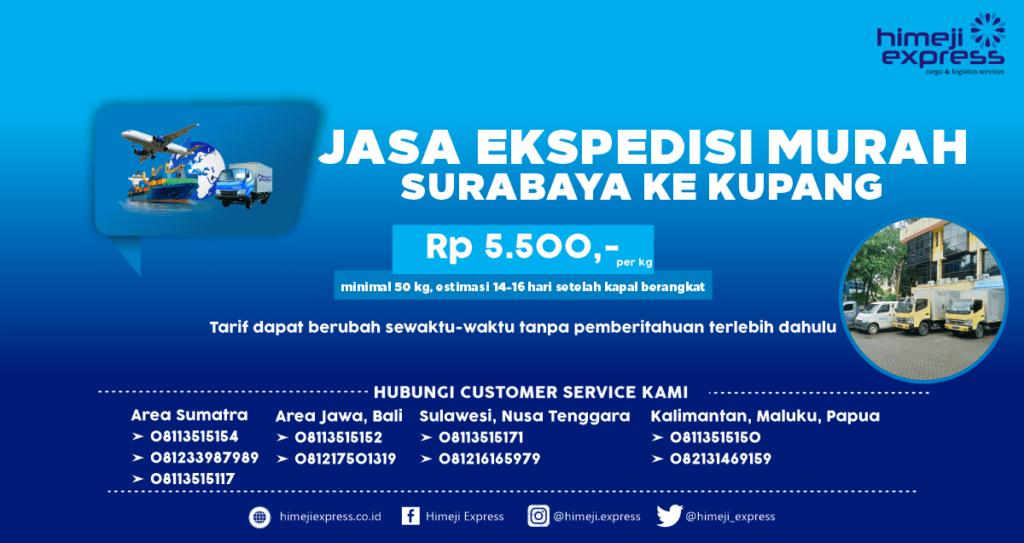 Ekspedisi Surabaya ke Kupang