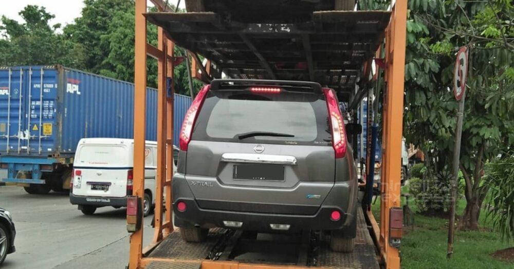 Pengiriman Mobil dengan Car Carrier