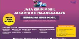Jasa Kirim Mobil dari Jakarta ke Palangkaraya
