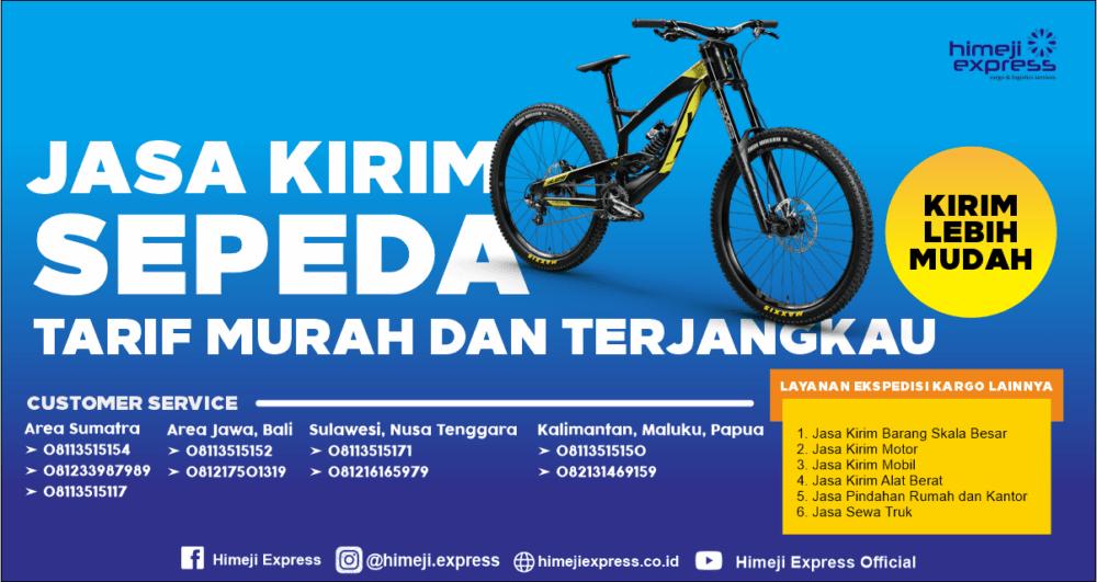 Jasa Kirim Sepeda ke Seluruh Indonesia