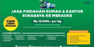 Jasa Pindahan Rumah dan Kantor Surabaya ke Merauke