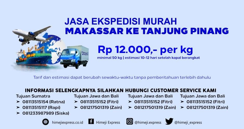 Jasa_Ekspedisi_Murah_Makassar_ke_Tanjung_Pinang