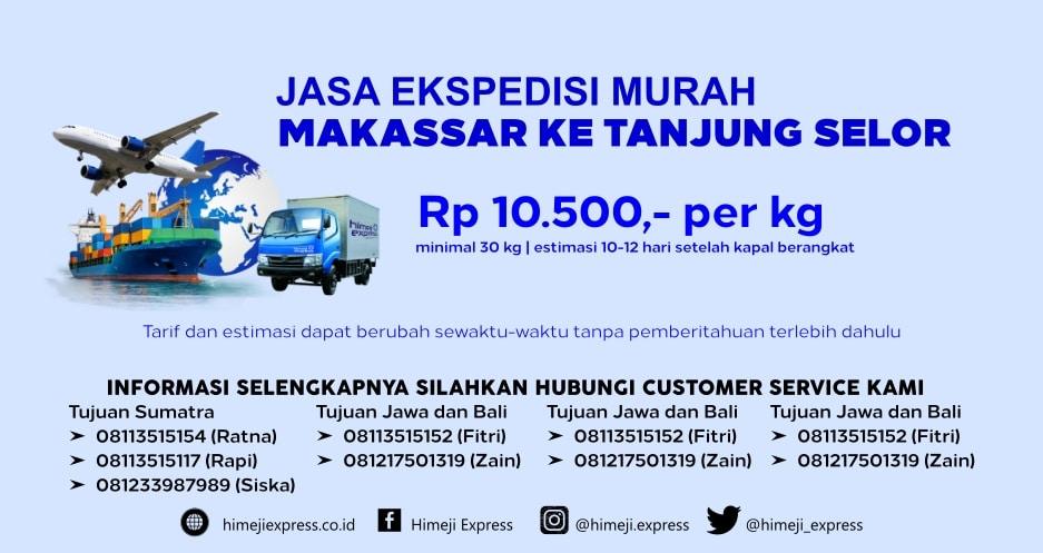 Jasa_Ekspedisi_Murah_Makassar_ke_Tanjung_Selor
