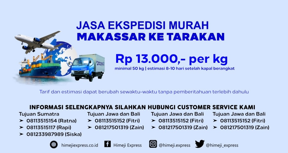 Jasa_Ekspedisi_Murah_Makassar_ke_Tarakan
