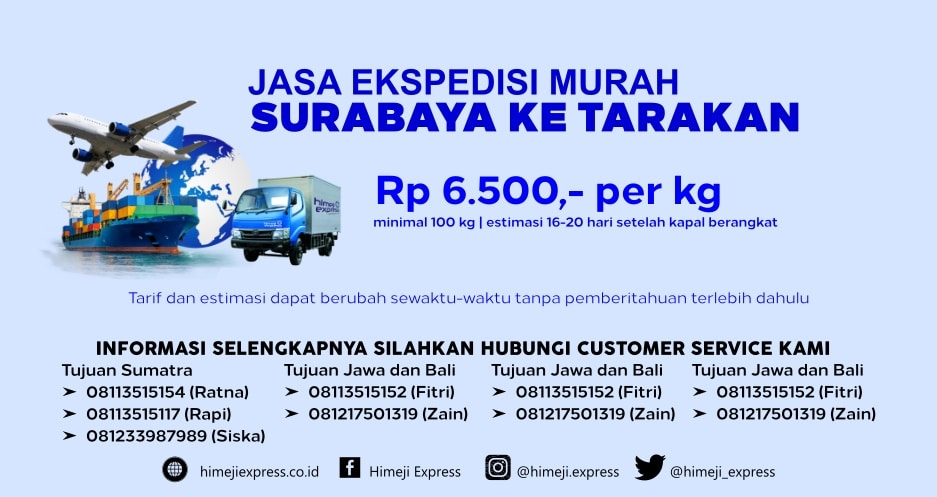 Jasa_Ekspedisi_Murah_Surabaya_ke_Tarakan