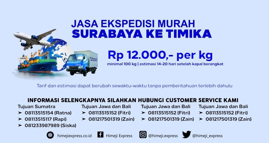 Jasa_Ekspedisi_Murah_Surabaya_ke_Timika