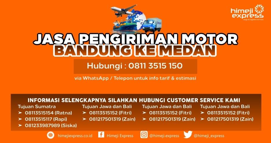 Jasa_Kirim_Motor_Bandung_ke_Medan
