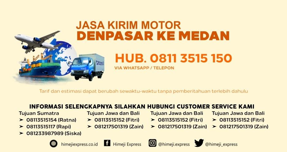 Jasa_Kirim_Motor_Denpasar_ke_Medan