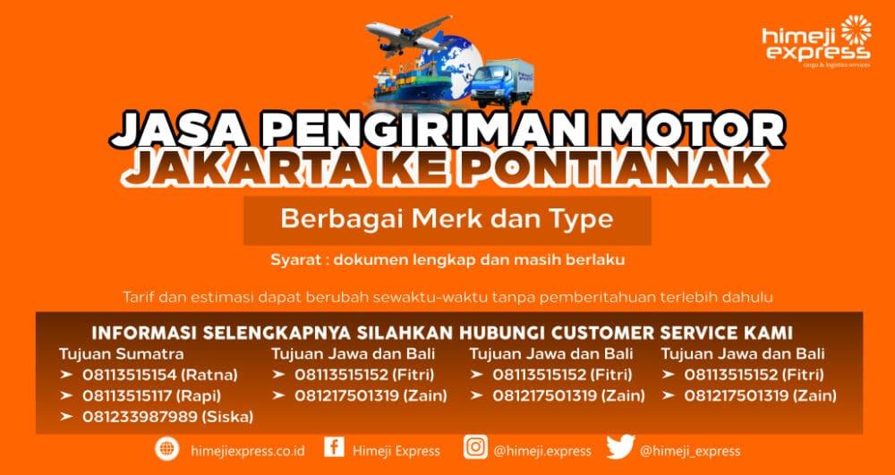 Jasa_Kirim_Motor_Jakarta_ke_Pontianak